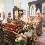 Утреня Великой субботы с последованием погребения Господа нашего Иисуса Христа совершена в Никольском соборе Бобруйска