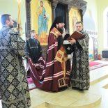 Епископ Серафим совершил чин прощения в Никольском кафедральном соборе