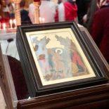 В воскресный день епископ Серафим совершил Божественную литургию в кафедральном соборе