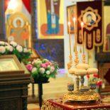 В канун праздника Рождества Пресвятой Богородицы епископ Серафим совершил всенощное бдение в Никольском кафедральном соборе