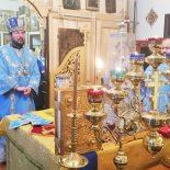 Божественная литургия в день празднования иконы Божией Матери «Скоропослушница»
