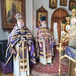 В день памяти сорока Севастийских мучеников епископ Серафим совершил Божественную литургию Преждеосвященных Даров в Георгиевском храме