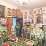 В день памяти преподобного Сергия Радонежского епископ Серафим совершил Божественную литургию в Сергиевском храме пос. Туголица