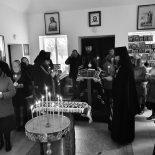 Епископ Серафим совершил чтение Великого покаянного канона преп. Андрея Критского в Проще
