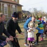 Масленица на приходе Крестовоздвиженского храма г. Осиповичи