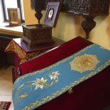 Епископ Серафим совершил Божественную литургию в праздник Рождества Пресвятой Богородицы в Никольском соборе