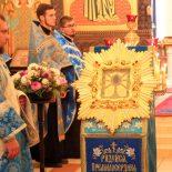 Состоялась торжественная встреча Крестного хода с Жировицкой иконой Пресвятой Богородицы