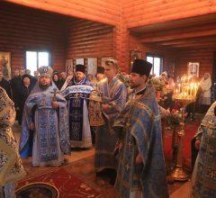 Престольный праздник храма в честь иконы Божией Матери «Всех скорбящих радость» г. Осиповичи