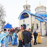 В день праздника Благовещения епископ Серафим совершил Божественную литургию в Благовещенском храме г. Кличева