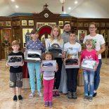 Воспитанники детского приюта посетили храм Покрова Пресвятой Богородицы
