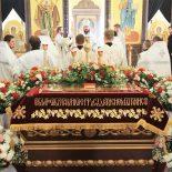 Богослужение Великой субботы в Никольском кафедральном соборе г. Бобруйска