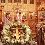 В Неделю Крестопоклонную епископ Серафим совершил Божественную литургию в г. Осиповичи