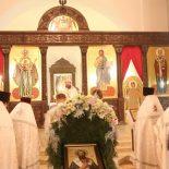 Божественная Литургия Василия Великого в Никольском кафедральном соборе