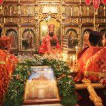 Архиерейская Божественная литургия в день престольного праздника Николо-Софийского храма
