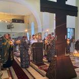 Епископ Серафим совершил первую пассию в Великом посту в кафедральном соборе