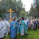 Епископ Серафим совершил Божественную литургию в Проще