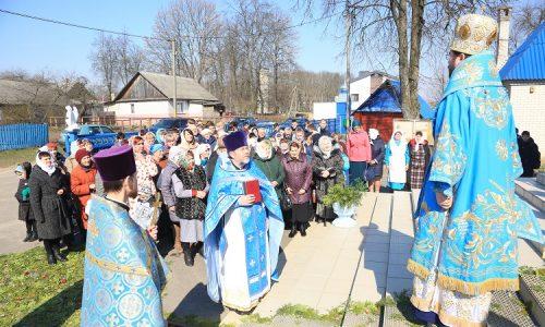 Приход Благовещенского храма г. Кличева отмечает престольный праздник
