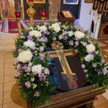 Епископ Серафим совершил всенощное бдение крестопоклонной недели в кафедральном соборе