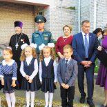 Священник поздравил учителей и учеников с началом нового учебного года
