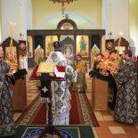 Епископ Серафим совершил чин пассии в Никольском кафедральном соборе Бобруйска