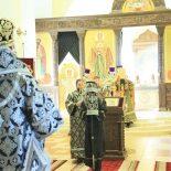 Литургия Преждеосвященных Даров в Никольском кафедральном соборе