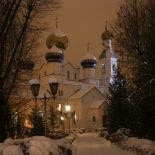 Всенощное бдение накануне дня памяти преподобного Серафима Саровского,чудотворца