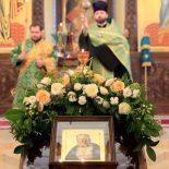 В кафедральном соборе состоялось всенощное бдение накануне праздника преподобного Серафима Саровского