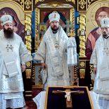 Епископ Серафим принял участие в освящении нового храма в г. Смолевичи