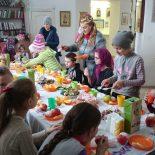 Сладкий стол для учеников Воскресной школы Сретенского храма