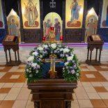 В Крестопоклонную неделю епископ Серафим совершил Божественную литургию в Никольском кафедральном соборе