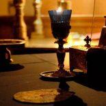 Божественная литургия преждеосвященных даров в Никольском кафедральном соборе