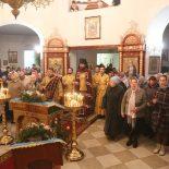 Архиерейская Божественная литургия в Сретенском храме
