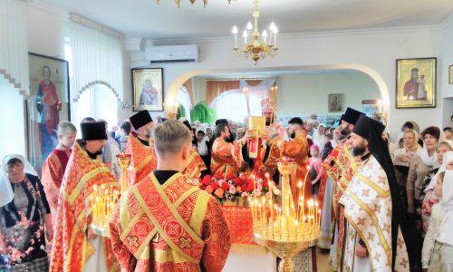Престольный праздник отмечает сегодня Елисаветинский храм Бобруйска