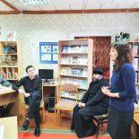 Священник принял участие во встрече со школьниками, посвященной Дню борьбы с наркоманией