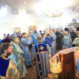 Епископ Серафим совершил Божественную литургию во Всехсвятском храме д. Бабирово