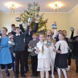 Рождественские утренники  в Воскресной школе Георгиевского храма