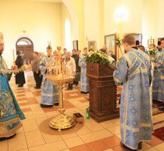 Всенощное бдение в канун праздника Благовещения Пресвятой Богородицы