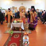 В Богоявленском храме г.п. Глуск был отслужен Благодарственный молебен за урожай 2019 года