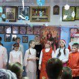 Детские святочные гулянья в Кировске