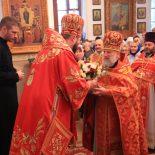 Поздравление с 60-летием настоятеля Георгиевского храма г. Бобруйска
