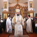 Престольный праздник Богоявленского храма в Глуске
