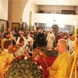 Праздничное всенощное бдение в Никольском кафедральном соборе