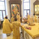 Архиерейская Божественная литургия в Неделю о мытаре и фарисее