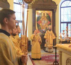 Воскресная Божественная литургия в Никольском кафедральном соборе г. Бобруйска