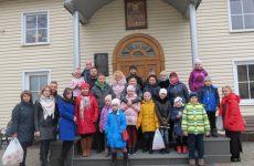 Учащиеся Воскресной школы «Иверон»  побывали в гостях у прихода храма Святого Духа