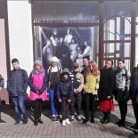 Воспитанники воскресной школы посетили выставку «Венценосная Семья. Путь любви»