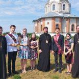 В Неделю 7-ю по Пасхе епископ Серафим совершил Божественную литургию в Никольском храме д. Свислочь