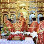 Пасхальная великая вечерня совершена в Николо-Софийском храме Бобруйска