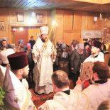 Епископ Серафим совершил Божественную литургию в храме Рождества Христова п. Елизово