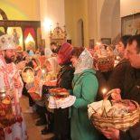 Епископ Серафим возглавил Пасхальное богослужение в Никольском кафедральном соборе г. Бобруйска